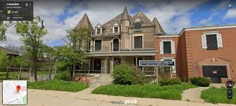 """Detroit Street View on Twitter: """"#Detroit, 130 E Grand Blvd, 1940's-2019.  Formerly home of Mrs Ada Wagner, this became a """"fellowship house"""" of the  Detroit Council of Churches after her 1934 death."""