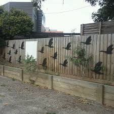 fence patio backyard wall rustic