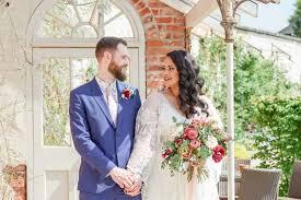 bohemian wedding at the walled garden