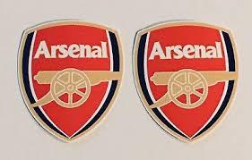 2x Arsenal F C Laptop Car Window Bumper Wall Vinyl Decals Stickers Ebay