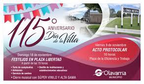 Flyer Invitacion 115 Aniversario Loma Negra 2018 Cambio Fecha