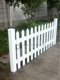 Tan Or White Garden Fences Plastic Buy Garden Fences Plastic Plastic Picket Fence Decorative Vinyl Fencing Product On Alibaba Com