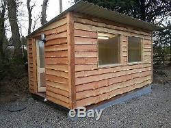 10 Pack 15mm Weany Edge Timber Cladding 2 4m Long Live Edge Shed Garden Fence