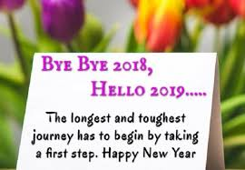 bye bye hello quotation pic new year wishes