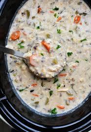 Crock Pot Chicken Wild Rice Soup - Life ...