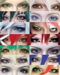 diffe types of eye makeup cosplay