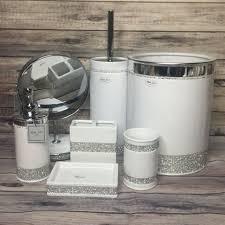 bella lux ceramic white bathroom cup