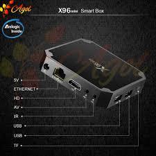 ANDROID TIVI BOX nhỏ gọn X96 MINI 2G RAM 16G ROM CÀI SẴN ỨNG DỤNG XEM  TRUYỀN HÌNH CÁP VÀ PHIM HD MIỄN PHÍ VĨNH VIỂN - Đầu phát Media [Hồ Chí