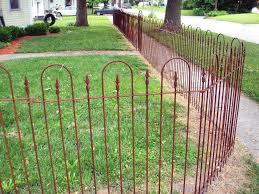 Solid Steel 4 Tall Fence Panel Wrought Iron Fencing Etsy Garden Fence Iron Fence Farm Fence