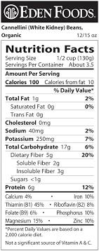 eden foods cannellini white kidney