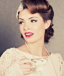1950s inspired hair and makeup