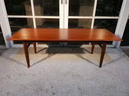 retro vintage teak coffee table