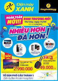 Khai trương siêu thị Điện máy XANH Đại Từ, Thái Nguyên