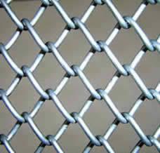 Chain Link Fence As Zoo Mesh Rockfall Barrier