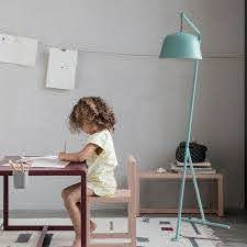 Nordic Floor Lamp For Living Room Bedroom Kids Room Reading Tripod Floor Lamp With Lamp Shade Indoor Home Offices Stand Lamp Floor Lamps Aliexpress