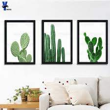 cactus wall art canvas painting