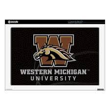 Western Michigan University Houston Basketball 17 Laptop Decal Zazzle Com