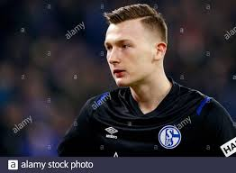 3 marzo 2020 Gelsenkirchen, Germania Calcio Schalke 04 - Bayern Monaco L-R:  Portiere Markus Schubert di Schalke 04 Foto stock - Alamy