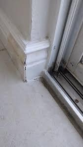 coming in through sliding glass door