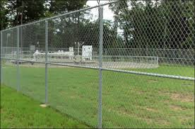 Chain Link Fence Galvanized Fence Steel Fence Pvc Coated Fence