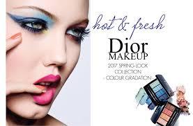 hot fresh dior makeup spring