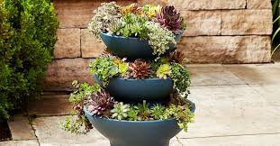 how to make a succulent tower planter