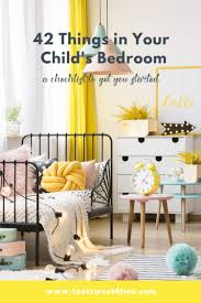 42 Things In Your Child S Bedroom Toot Sweet 4 Two