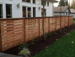 Wood Horizontal Fence Wood Fence Horizontal Slats Google Search Fences Horizontal Fence Backyard Fences Wood Fence