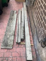 Concrete Fence Posts And Bottom Panel In Ol11 Rochdale For 50 00 For Sale Shpock