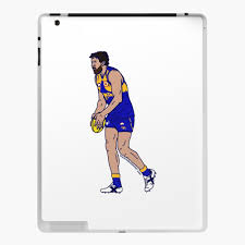 "Josh Kennedy Character Illustration"" iPad Case & Skin by nutandbolt |  Redbubble"