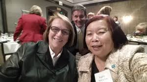 "Kathy Wong(Lau) on Twitter: ""Hanging out w/ Dean Mary Schutten at  commencement spkr @ Ysabel Duron dinner. VP Charlie Faas photobomb.  Graduation tomorrow Spartans! #SJSU… https://t.co/JcmklXjg2A"""