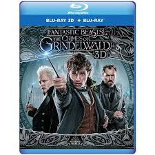Fantastic Beasts: The Crimes of Grindelwald 3D (Blu-ray 3D + Blu-ray) – Harry  Potter Shop