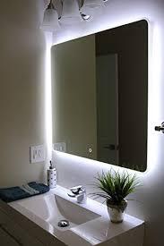 windbay backlit led light bathroom