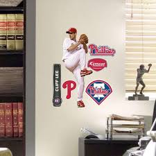 Cliff Lee Fathead Teammate Mlb Philadelphia Phillies Sticker Obedding Com