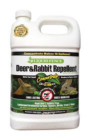 Liquid Fence Deer Rabbit Repellent 1 Gallon