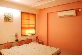 orange color scheme for living room