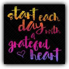 start each day a grateful heart quotes and notes facebook