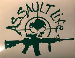 Assault Life Gun Rights Sticker Ar15 Car Window Decals Vinyl Decal Stickers Ebay