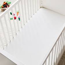 organic cotton mini crib fitted sheet