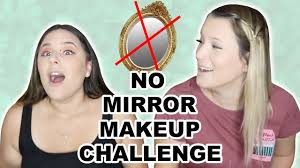 jaclyn hill no mirror makeup challenge
