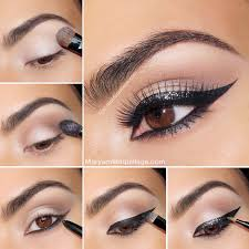 exotic cat eye makeup tutorial pictures