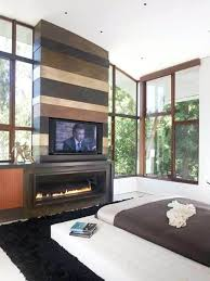 tv above fireplace designs