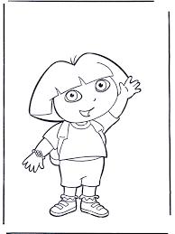 Kleurplaten Dora Kleurplaat Dora