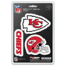 Nfl Kansas City Chiefs 3 Piece Car Emblem Kit Bed Bath Beyond