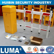 China Electro Static Discharge Fencing Gate Barrier Automatic Fence Barrier For Car Parking Barrier China Car Parking System Parking Boom Gatev