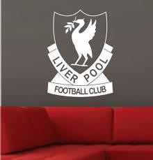 Liverpool Football Club Wall Art Sticker Vinyl Decal Logo Various Sizes Sticker Wall Art Liverpool Football Club Sticker Art