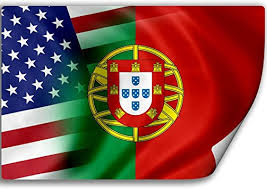 Amazon Com Expressitbest Sticker Decal With Flag Of Portugal And Usa Portuguese Automotive