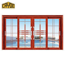 aluminium frame sliding glass door