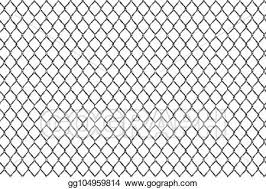 Clip Art Vector Creative Vector Illustration Of Chain Link Fence Wire Mesh Steel Metal Isolated On Transparent Background Art Design Gate Made Prison Barrier Secured Property Abstract Concept Graphic Element Stock