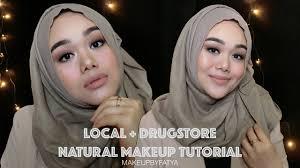 makeup tutorial indonesia natural